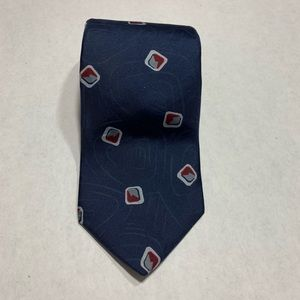 Givenchy Monsieur Blue & Red Men's Tie